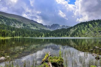 Altai Mountain Lake