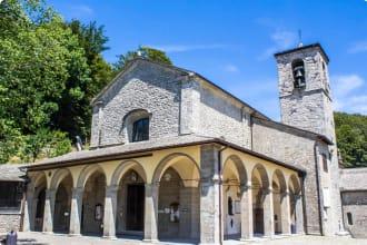Sanctuary of La Verna in Italy