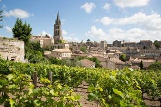 Saint Emilion village in Bordeaux