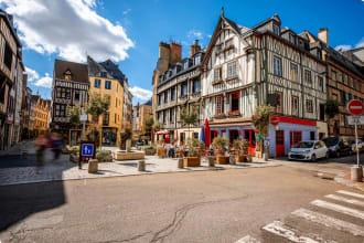 Street View in Rouen