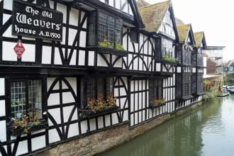 The Old Weavers ale house in Canterbury, England