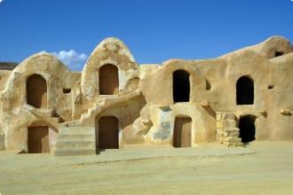 Fortified granaries in Tunisia