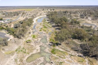 Brewarrina New South Wales, heritage listed aboriginal fish traps