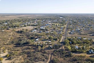 Town of Cunnamulla Queensland