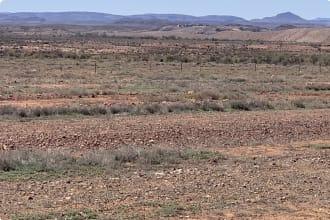 Flinders range from the highway