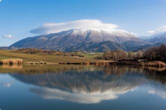 Mount Olympus in Greece