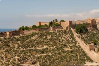 Alcazaba of Almeria, Spain