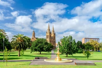 St. Peter's Cathedral in Adelaide city
