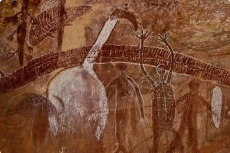 Rock art in Quinkan