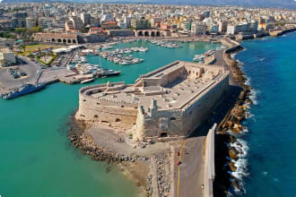 Iraklion, capital of Crete island