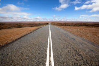 Open Outback Road