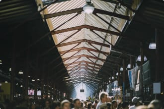 Queen Victoria Market Melbourne Victoria