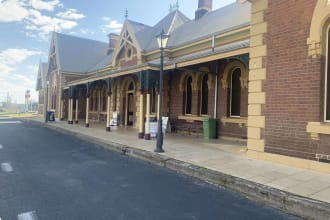 Young NSW Railway station