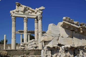 Pergamon, ruins of the roman city