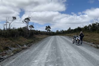 West coast highway, Tasmania