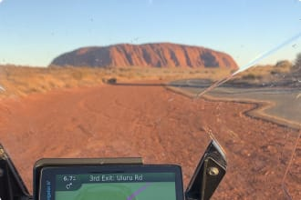 Motorbike tour incl Uluru