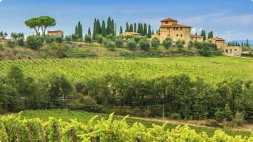 Hhistory of Italy, Chianti, Tuscany, Italy