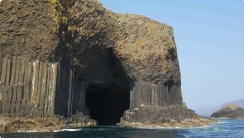Columnar Basalt, Scottish isles