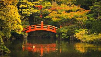 Japanese garden design Japan