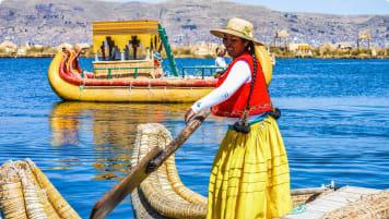 Lake Titicaca, Peru/Bolivia