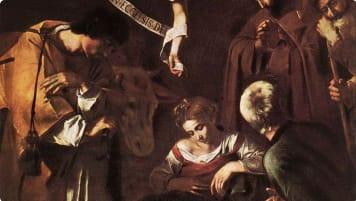 seeking Caravaggio's Nativity