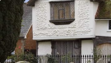 Pargeting County Museum Clare Suffolk
