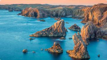 Mangersta Sea Stacks Lewis Outer Hebrides