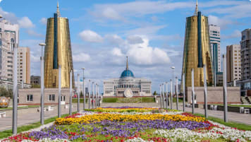 President's Palace in Astana Kazakhstan