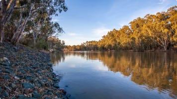 Murray river at Echuca