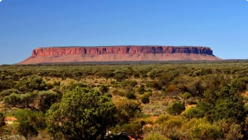 Mount Connor in Australian OutBack
