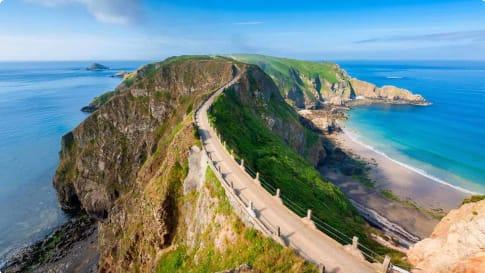 Sark Isthmus, Channel Islands UK