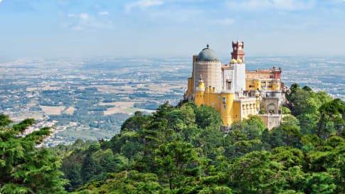 The Pena National Palace Sao Pedro de Penaferrim, Sintra, Portugal