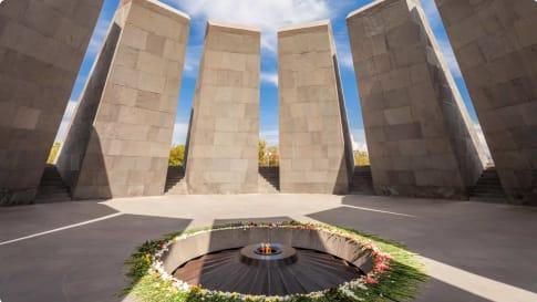 Tsitsernakaberd - The Armenian Genocide memorial