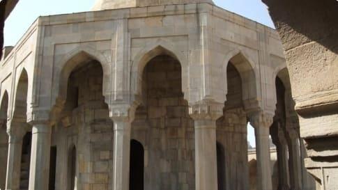 The Divan khana of Shirvanshahs Palace, Baku, Azerbaijan