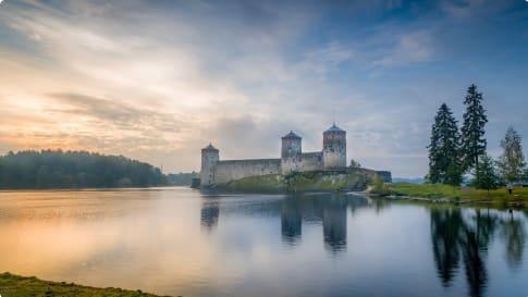 Olavinlinna fortress Finland