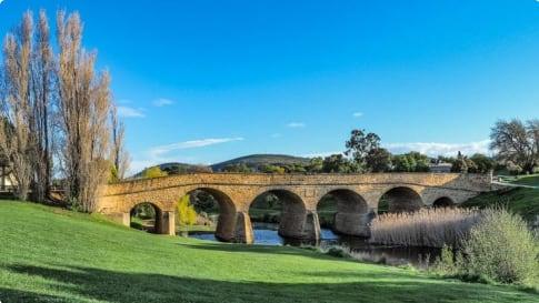 Richmond Bridge Tasmania Australia
