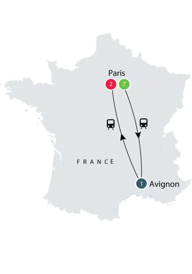 French History by Rail European small group short tour itinerary