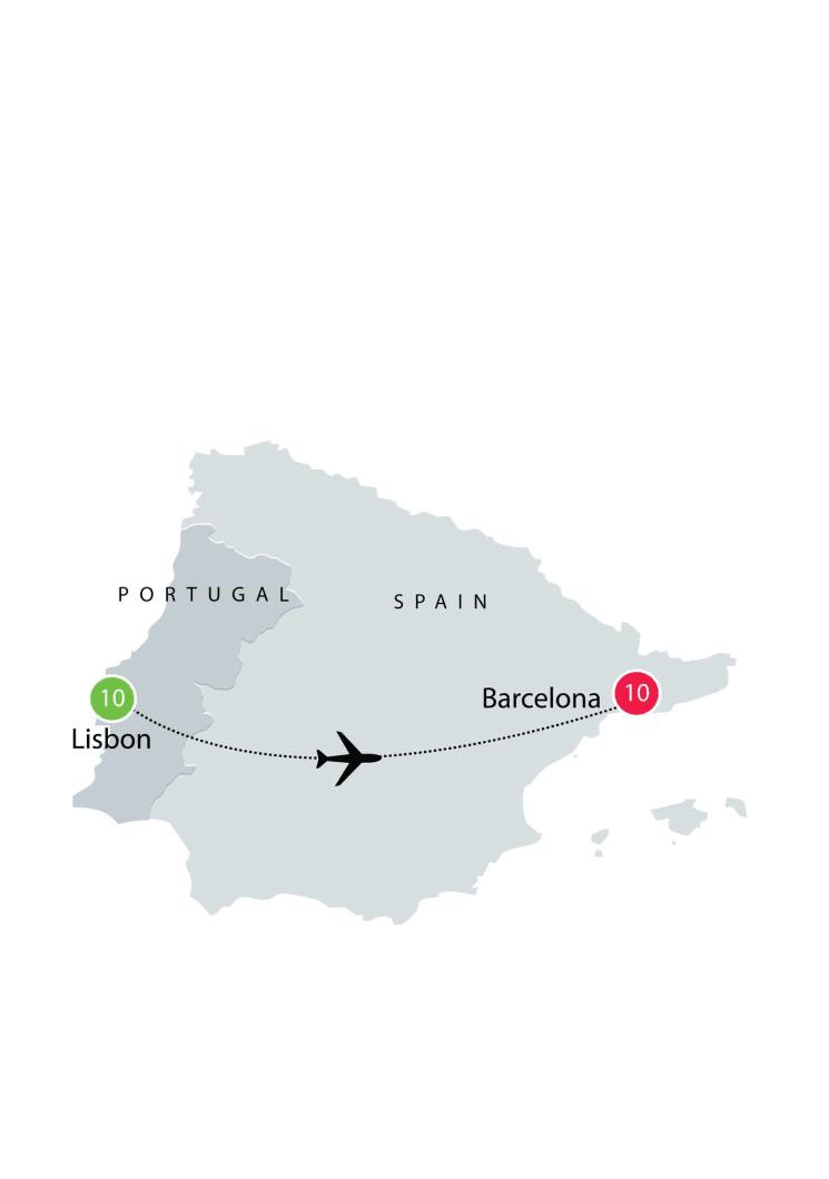 Lisbon & Barcelona small group tour itinerary