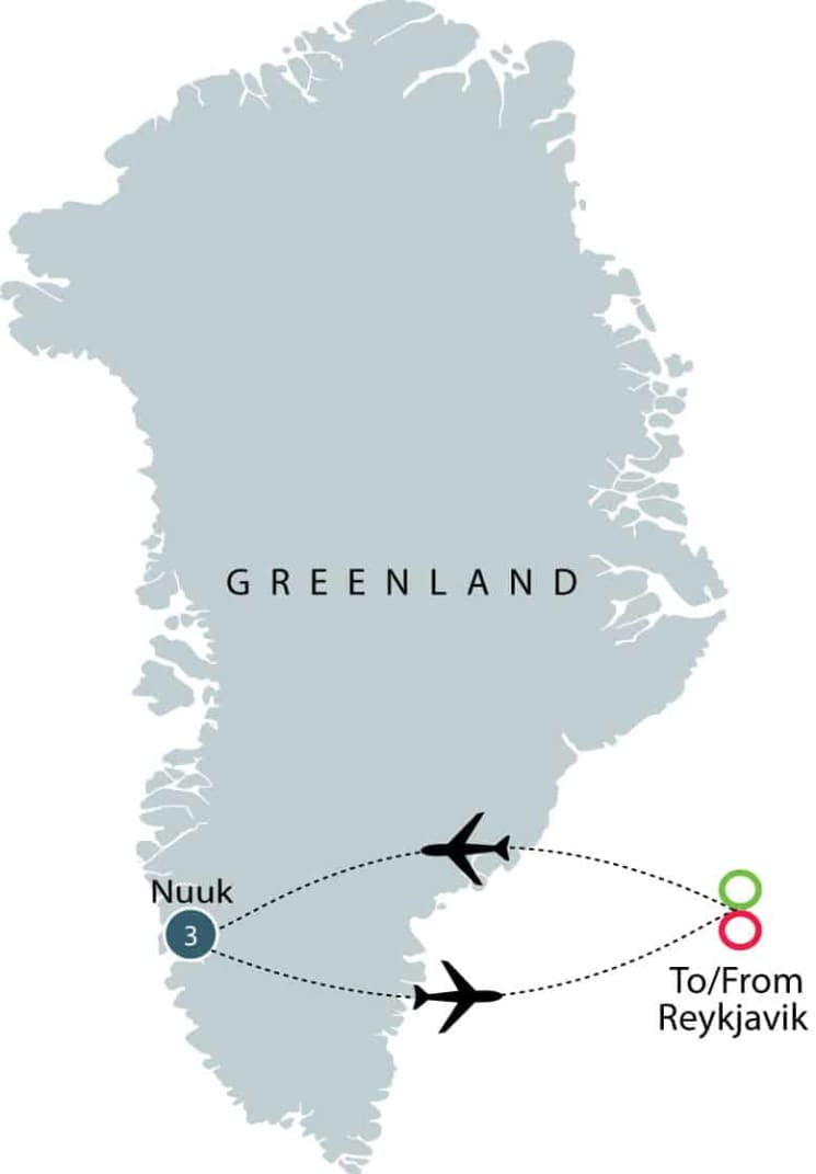 Discover Greenland | Small Group Tour for Seniors itinerary