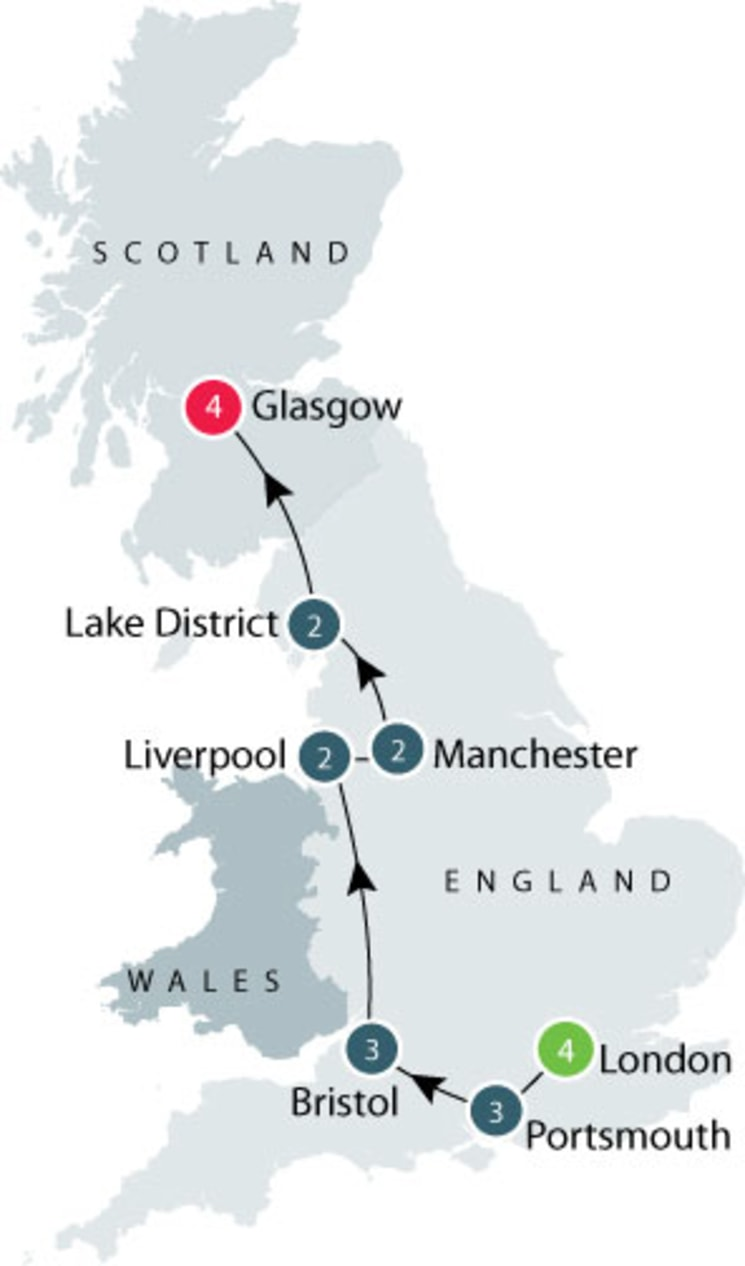 Queen Victoria's Great Britain: a small group tour itinerary