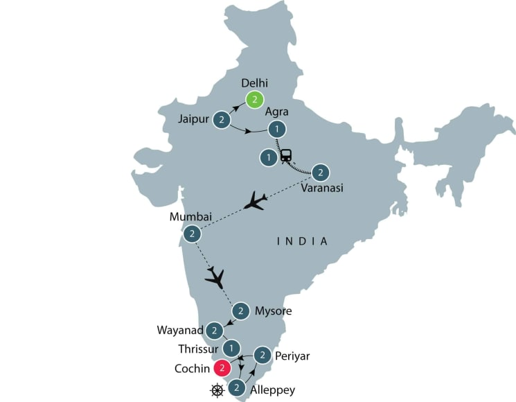 Cultural and History Tour of India | Small Group Tour itinerary
