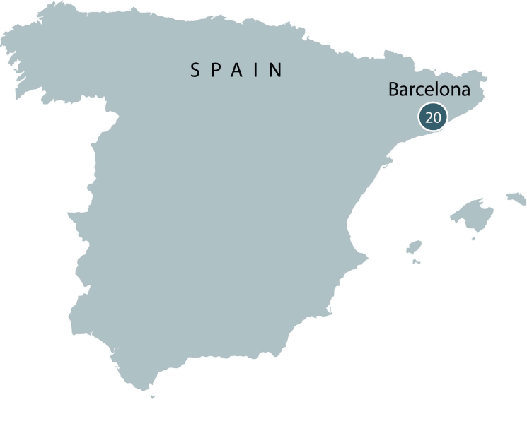 Barcelona Small Group Tour | The city explored in-depth itinerary