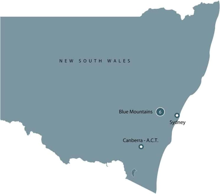 Convicts and Colonials in NSW | Summer School in Blue Mountains itinerary
