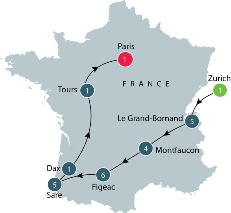 Secret France | Small group tours France | Places of cultural interest for seniors itinerary