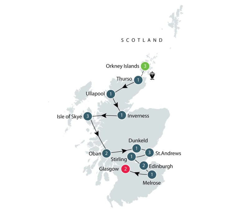 Scotland small group tour | Tracing 5,000 years of history itinerary