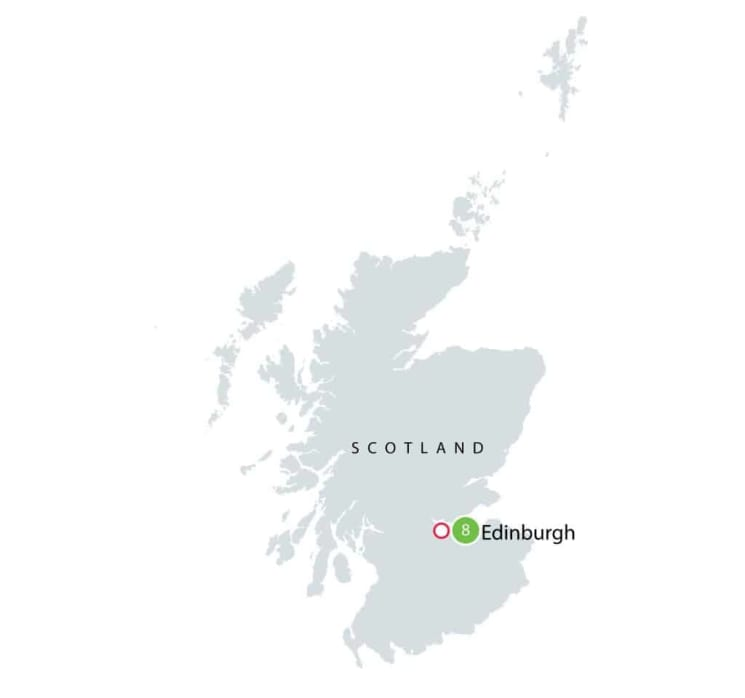 Edinburgh Festival Fringe Small Group Tour itinerary
