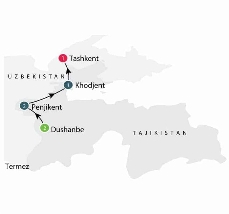 Tajikistan Tour | Central Asian Small Group Tour itinerary