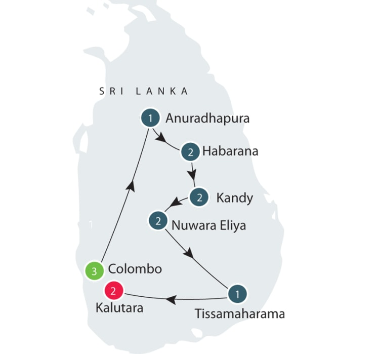 Sri Lanka | Culture and History Small Group Tour itinerary
