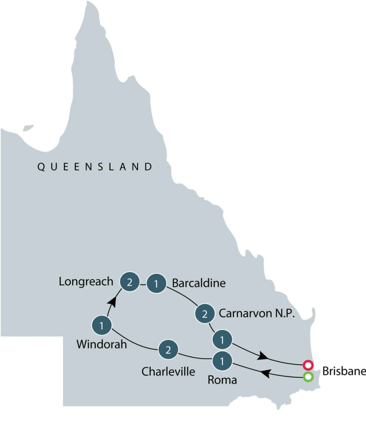 Small group tour of Queensland - 11 days itinerary