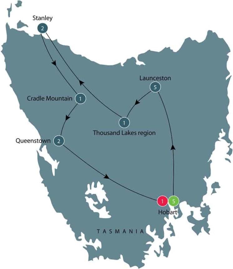 Tours of Tasmania; exploring colonial history itinerary